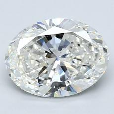 Recommended Stone #1: 2,01-Carat Oval Cut Diamond