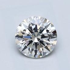 1.00 Carat 圆形 Diamond 理想 I SI1