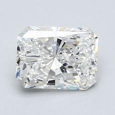 オススメの石No.2:1.01カラットのラディアントカットダイヤモンド