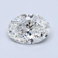 Recommended Stone #2: 1.00-Carat Oval Cut Diamond