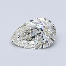 推薦鑽石 #4: 0.70 克拉梨形鑽石
