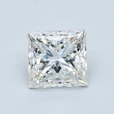 1.02-Carat Princess Diamond Very Good F IF