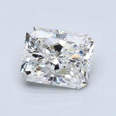 2.00-Carat Radiant Diamond Very Good E VS1