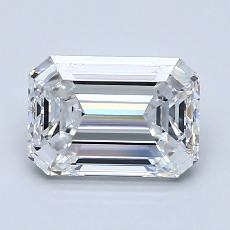Recommended Stone #2: 1.60-Carat Emerald Cut Diamond