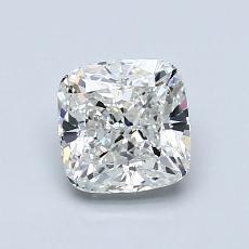 オススメの石No.4:1.01カラットのクッションカットダイヤモンド