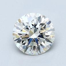 Recommended Stone #1: 1.29-Carat Round Cut Diamond