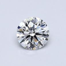 Recommended Stone #2: 0.61-Carat Round Cut Diamond