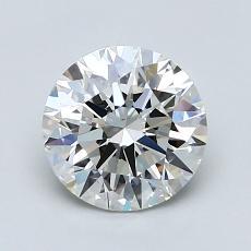 1.30-Carat Round Diamond Ideal H VS1