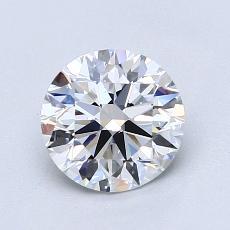 1.21 Carat 圆形 Diamond 理想 E VS2