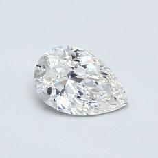0.50 Carat 梨形 Diamond 非常好 G VS2