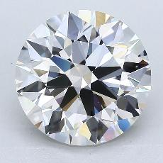 Recommended Stone #2: 3.31-Carat Round Cut Diamond