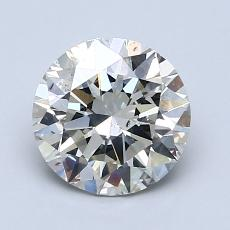 1.51-Carat Round Diamond Ideal K SI2