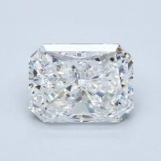 Recommended Stone #3: 1.21-Carat Radiant Cut Diamond