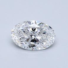 Recommended Stone #1: 0.71-Carat Oval Cut Diamond