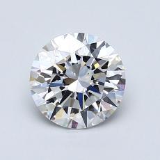 1.01-Carat Round Diamond Ideal D VS1