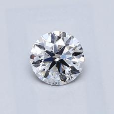 推荐宝石 2:0.50克拉圆形切割钻石
