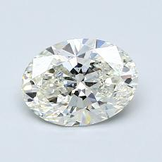 Recommended Stone #3: 1.04-Carat Oval Cut Diamond