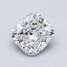 1.01 Carat クッション Diamond ベリーグッド G VVS1