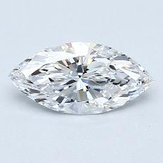 Recommended Stone #3: 0.61-Carat Marquise Cut Diamond