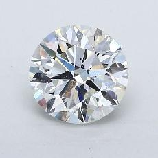 Recommended Stone #3: 1.50-Carat Round Cut