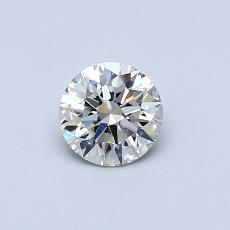 推薦鑽石 #1: 0.43 克拉圓形切割鑽石