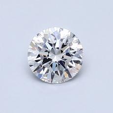 オススメの石No.2:0.60カラットラウンドカットダイヤモンド