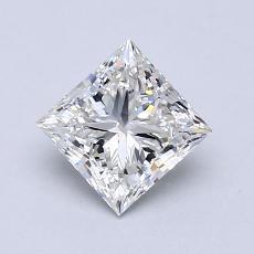 1.01-Carat Princess Diamond Very Good I VVS2