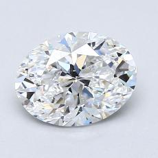 Recommended Stone #2: 1.31-Carat Oval Cut Diamond