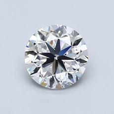 1.01 Carat 圓形 Diamond 良好 E VS1