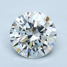 1.52 Carat 圆形 Diamond 理想 G IF