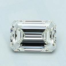 Recommended Stone #2: 1.10-Carat Emerald Cut Diamond