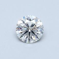 0.51 Carat 圓形 Diamond 理想 H VS2