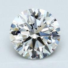 2,01-Carat Round Diamond Ideal H VVS2