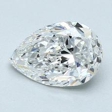 Recommended Stone #2: 1.30-Carat Pear Cut Diamond