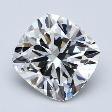 2.01 Carat 垫形 Diamond 非常好 G VS1