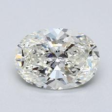 1,20 Carat Ovale Diamond Très bonne I VS2
