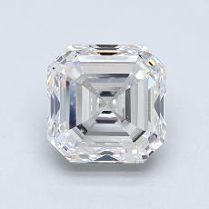 Recommended Stone #2: 2.00-Carat Asscher Cut Diamond