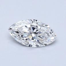 推薦鑽石 #2: 0.60  克拉欖尖形切割鑽石
