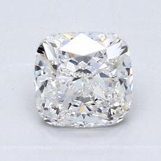 オススメの石No.1:1.25カラットのクッションカットダイヤモンド