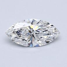 0,71-Carat Marquise Diamond Very Good E IF