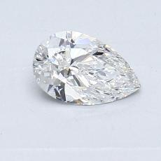Recommended Stone #4: 0.50-Carat Pear Cut Diamond