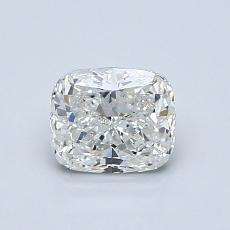 0.90-Carat Cushion Diamond Very Good G VS1