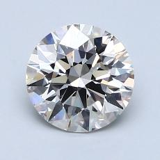 1.50-Carat Round Diamond Ideal J VVS1
