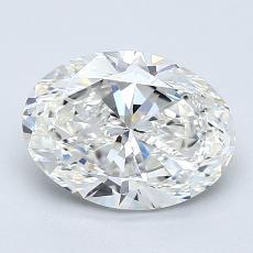 1.51-Carat Oval Diamond Very Good G VS1