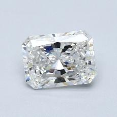 1.20-Carat Radiant Diamond Very Good F VVS2