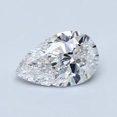 推荐宝石 2:0.70 克拉梨形切割钻石