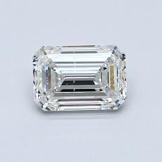 Recommended Stone #4: 0.80-Carat Emerald Cut Diamond