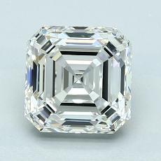 Recommended Stone #2: 2.10-Carat Asscher Cut Diamond