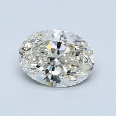 Recommended Stone #3: 1.29-Carat Oval Cut Diamond