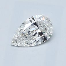推薦鑽石 #4: 0.55 克拉梨形鑽石